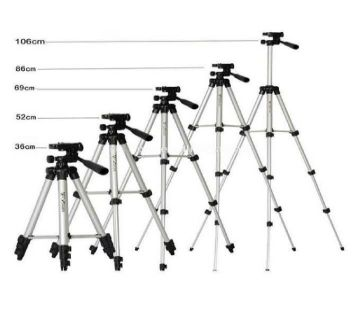 3110 Aluminum Alloy tripod stand For Camera and mobile