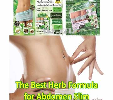 Natural Herbal Abdomen Slim Belly Slimming -30 Capsules-Thailand