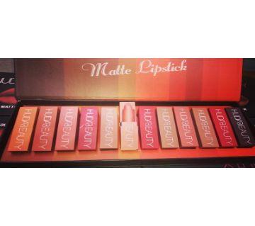 Huda Beauty Matte Lipstick 12 Piece Set (UAE)