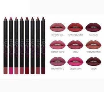 Huda Beauty Pencil Lipstick Set 12 pieces UK