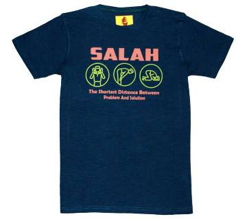 SALAH Gents Half Sleeve Printed Islamic T-Shirt