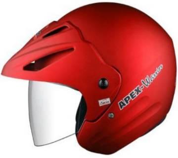 Aaron apex warrior Motorbike Helmet For Men and  Women-Matt RED
