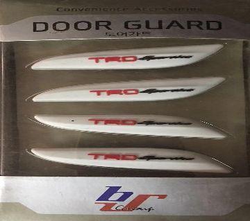 TRD Car Side Door Edge Protection ডোর গার্ড - White
