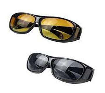 HD ভিশন সানগ্লাস Wrap Around Glasses Driving