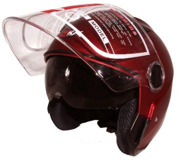 XBK-T3 Matt Red Bike Helmet for Men and Women