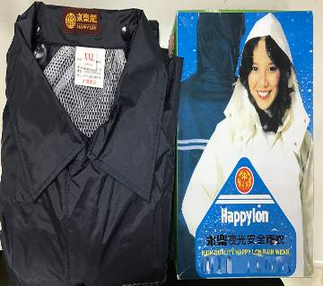 Happylon Raincoat with Trouser For Bike users  - Dark Blue