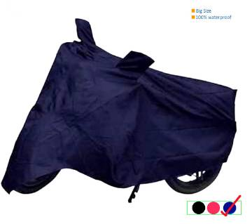Bike Body Cover Universal -Navy Blue