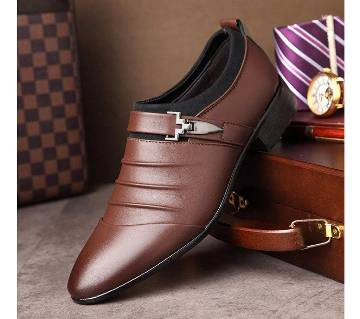 Exclusive Original China Shoes - 532 - Coffee Brown