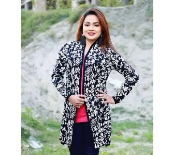 Black Stylist Sweater For Girl