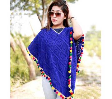 Poncho for women  ( Hand Work)