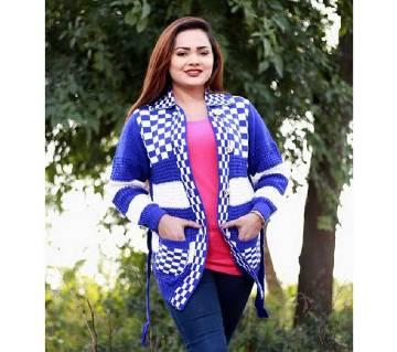 Fashionable Cardigan For Ladies Multicolor