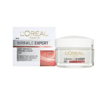 L`OREAL PARIS Wrinkle Expert Anti-Wrinkle Firming Cream 45+ (Germany)