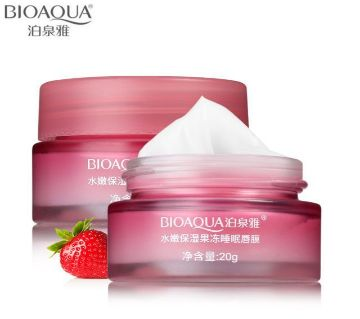 BIOAQUA Strawberry Lip Sleeping Mask
