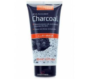 Beauty Formulas Charcoal Clay Mask -100ml-UK