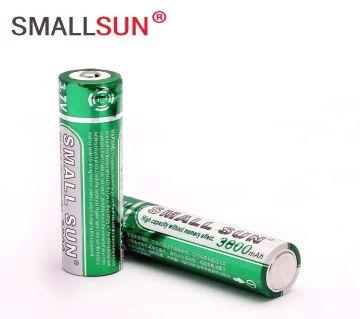 Small Sun 18650 3.7v ব্যাটারি