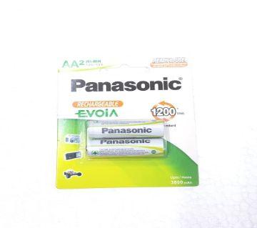 Panasonic 2 AA 3800 mah রিচার্জেবল ব্যাটারি
