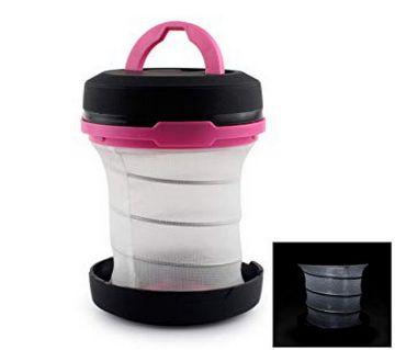 KAI JIE KJ-8817 Portable 3-Mode টেন্ট ল্যাম্প - Black + Pink