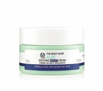 Aloe Soothing night cream 50 ml (UK)