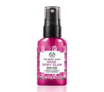 Rose dewy glow face mist 60 ml (UK)