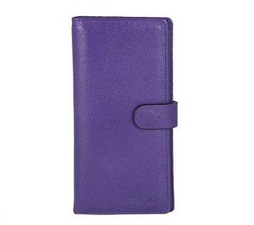 Indigo Leather Mobile Cover Cum Wallet