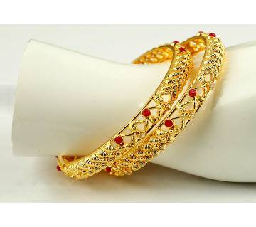 gold plated bangles (2 pieces)