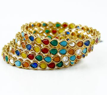 Goldplated bangle (4 pice )