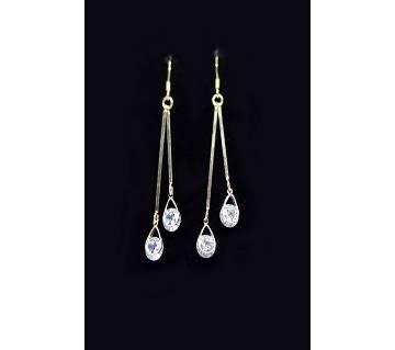 Long Stone Earring