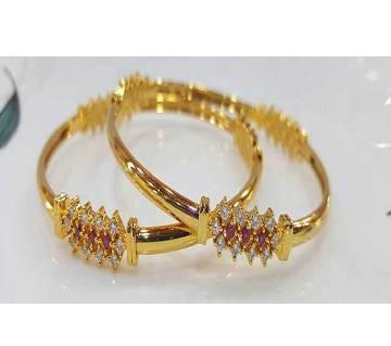 Gold Plated Bangles Set (2 pcs)