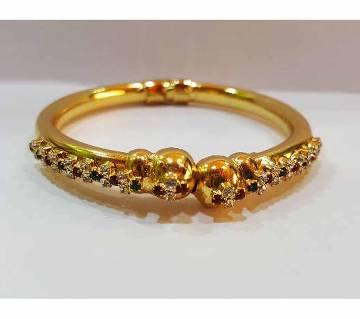 Gold Plated stone setting Ladies Bracelet