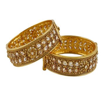 Gold plated Bangles (2 pcs)