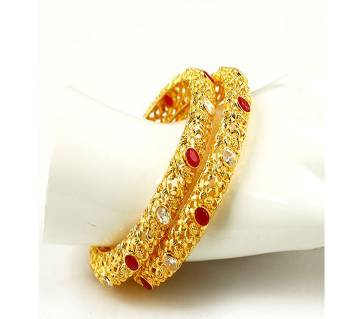 Goldplated bangle (2 pice)