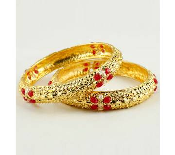 Goldplater bangle (2 pice)