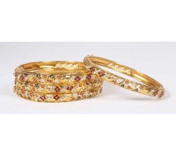 Indian Gold plated Bangles (2 pcs)