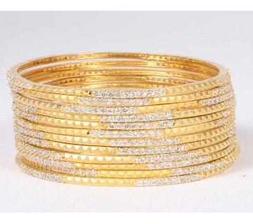Diamond cut bangles- 24 pics