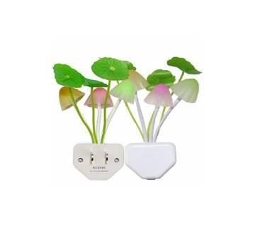LED Mushroom Light-2pc combo