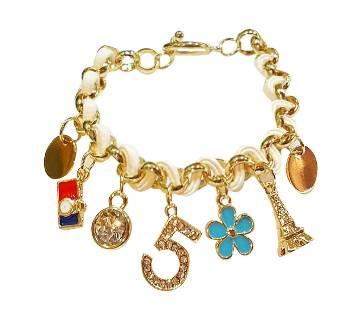 Eiffel Tower designed rhinestone setting bracelet