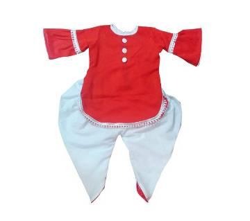 Boishaki cotton baby girl dress