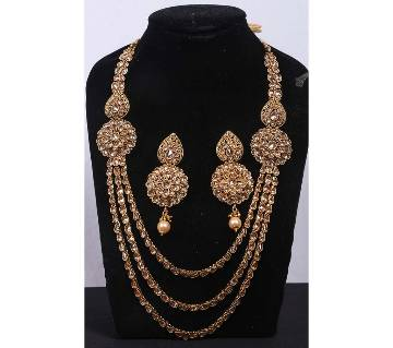 Gold Plated Stone Setting Sitahar Set
