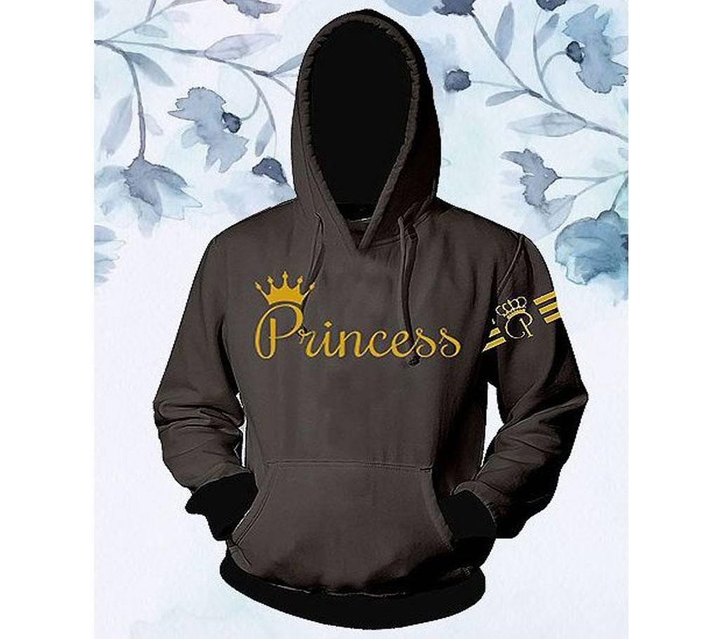 লেডিজ কটন হুডি - Grey - Princess - FAS বাংলাদেশ - 1056642