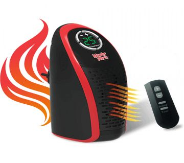 Mini Portable Room Heater With Remote Control 400W - HCL