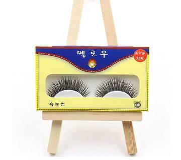 Professional 1 pair natural false eyelashes
