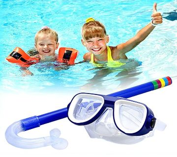 Breathing Tube Shockproof Anti-fog Swimming Glasses