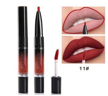 2 In 1 Lip Liner Cosmetics Waterproof Matte-China
