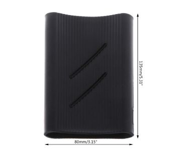 For Xiaomi 2 20000mAh Battery Charge Silicone Anti-slip Skin Full Protective Cover Case