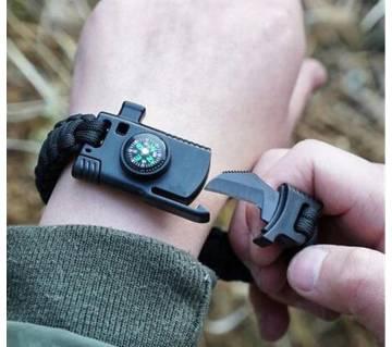Military Emergency Braided Survival Bracelet