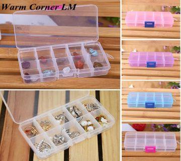10 Grids Multifunctional Storage Box Case