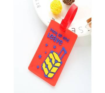 ID Address Holder Letter Baggage Boarding Tags Portable Label