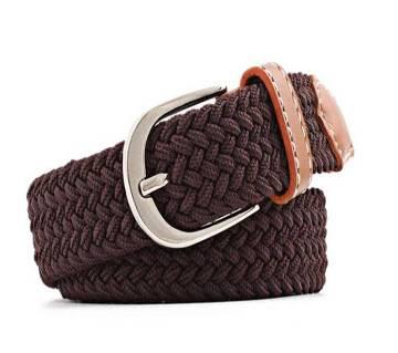 Women Casual Knitted pin buckle Belt