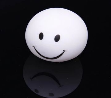 Cute Smiley-Face Color Changing LED Lamp Decoration Night Light