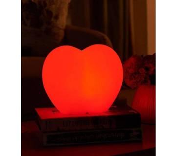 Heart-shaped LED light